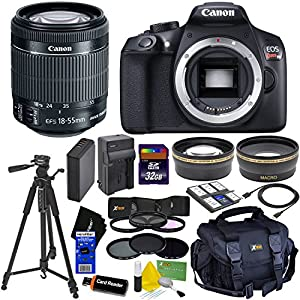 Canon EOS Rebel T6 Digital SLR Camera with 18-55mm + Dl Kit