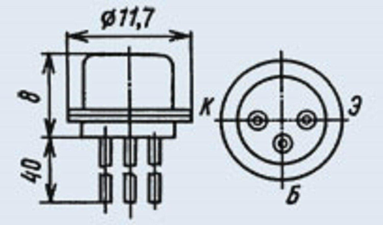 MP21E analogico 2N61C germanio transistor URSS 25 pz