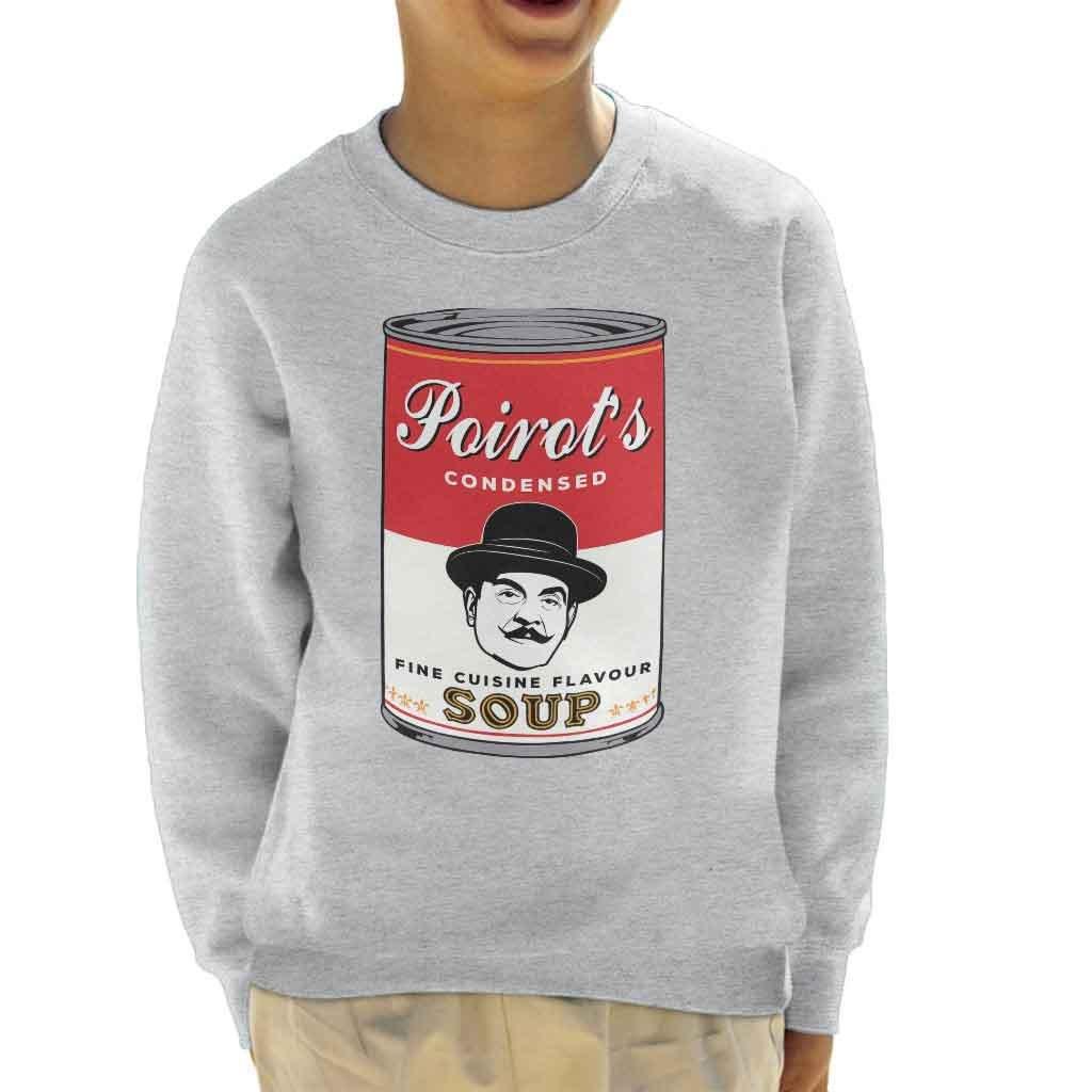 Coto7 Campbells Hercule Poirot Fine Cuisine Flavour Soup Kid's Sweatshirt