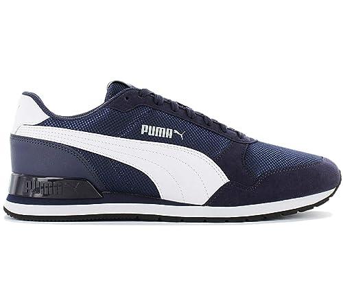 PUMA Herren St Runner V2 Mesh 366811 03 Schuhe Blau Low top