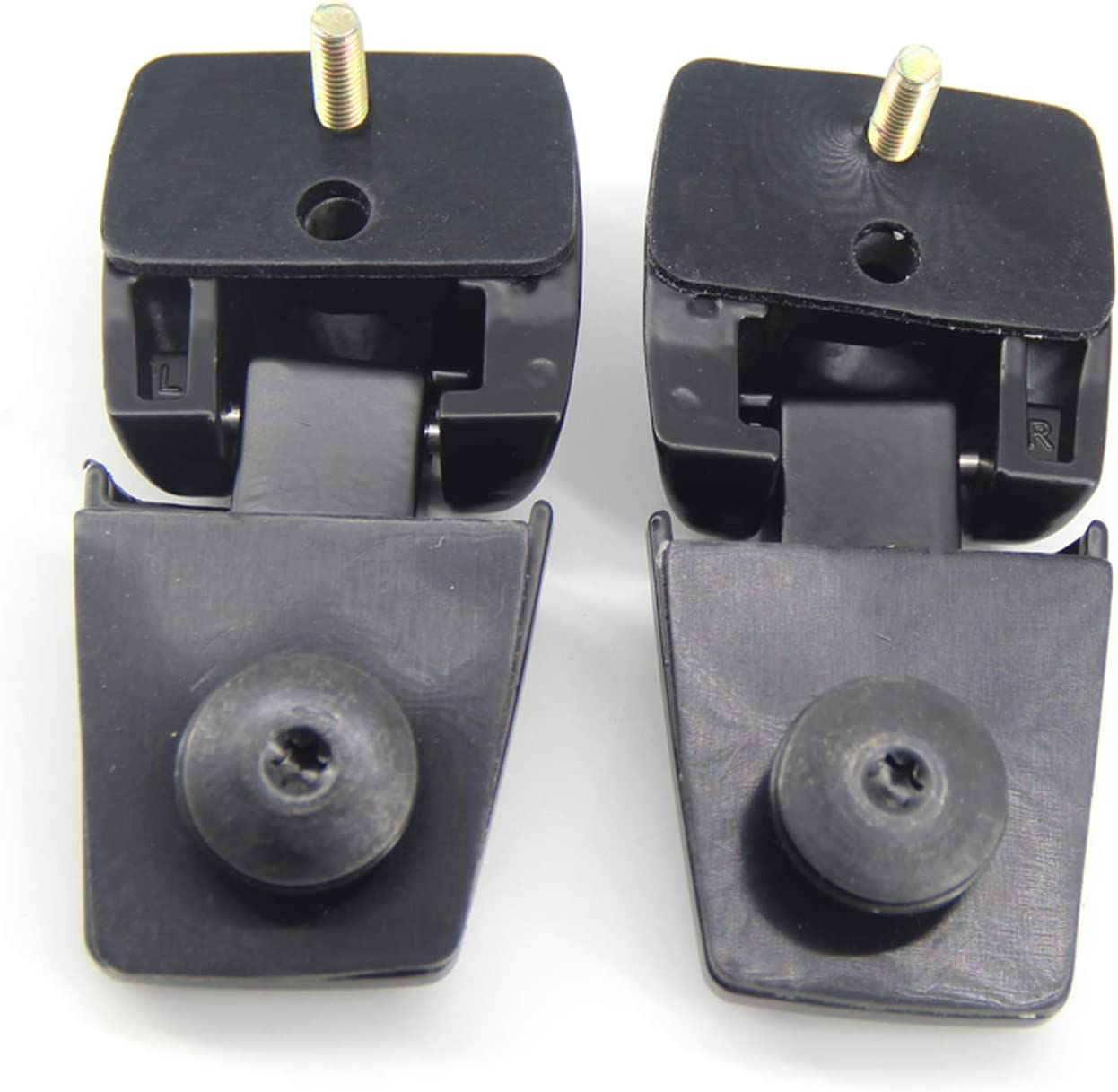 FEXON Rear Window Glass Hinges Set for Lincoln Aviator 4.6L 2003-2005 Replaces 3C5Z78420A68AA 3C5Z78420A69AA