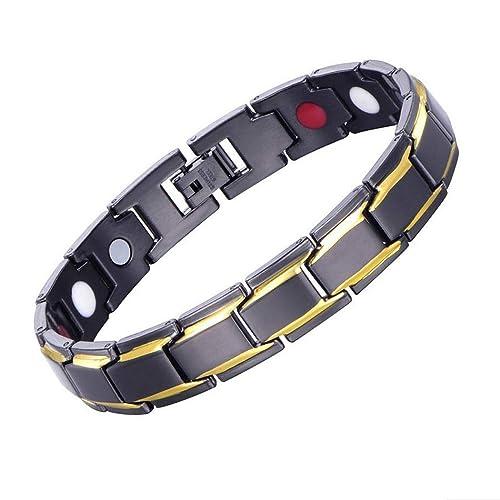 6403e4f99452 Pulseras magnéticas para hombres