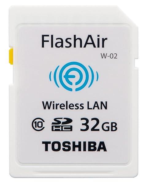 Toshiba SD-R032GR7AL01 SDHC Flash Air Class 10 - Tarjeta de Memoria