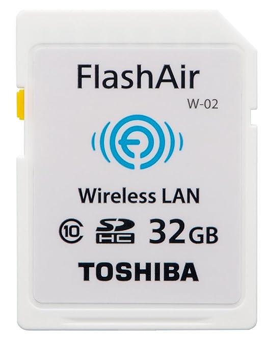 92 opinioni per Toshiba- Scheda di memoria SD FlashAir con chip wireless LAN integrato, classe