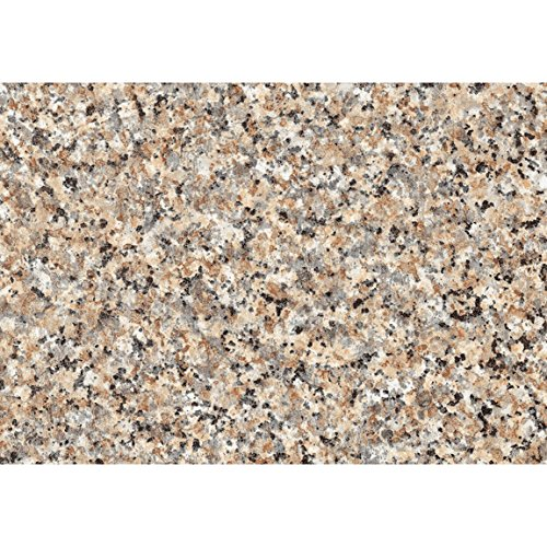 DC Fix 3460181 Brown Granite Decorative Self Adhesive Vinyl (3 Rolls)