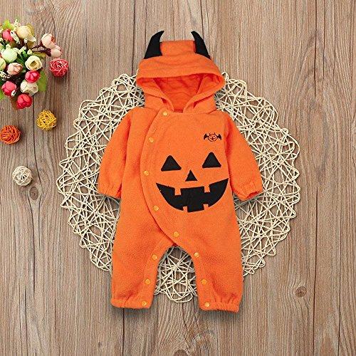 MOKO-PP Toddler Infant Baby Girls&Boys Hooded Romper Jumpsuit