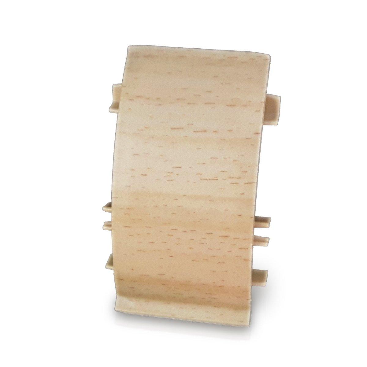 Kirschbaum, 20m Kabelkanal Sockelleiste//Fu/ßbodenleiste in 6 Dekoren