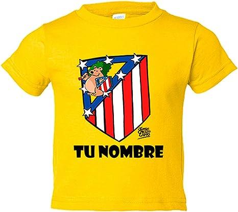 Camiseta niño Atlético de Madrid El Escudo del Atleti clásico ...
