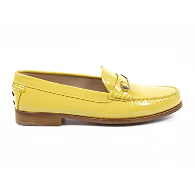 Tods Ladies Loafer XXW0VN0L980OW0G207 Yellow 38 EUR - 8 US (254mm)