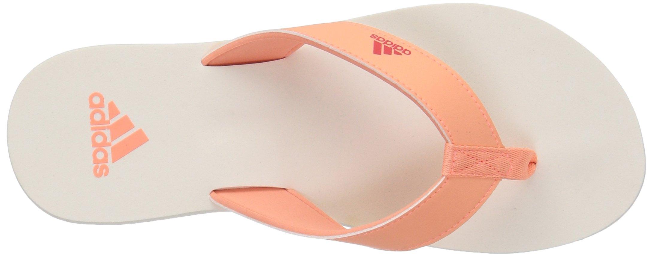 adidas Performance Unisex-Kids Beach Thong 2 K, White/Hi-Res Blue/White, 13 M US Little Kid by adidas (Image #8)