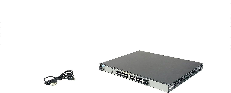 HP Conmutador E3500 Serie yl E3500-24G-PoE+ yl - Switch de Red ...