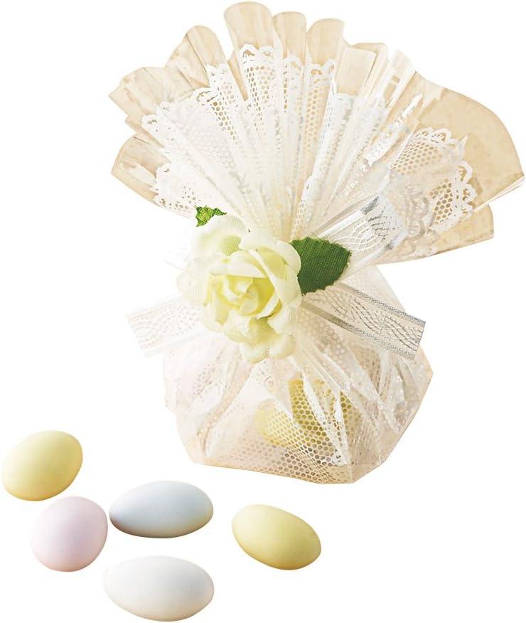 ウエディングドラジェ(100個セット) プチギフト 結婚式 披露宴 2次会 バラマキ 縁起物 プレ花嫁