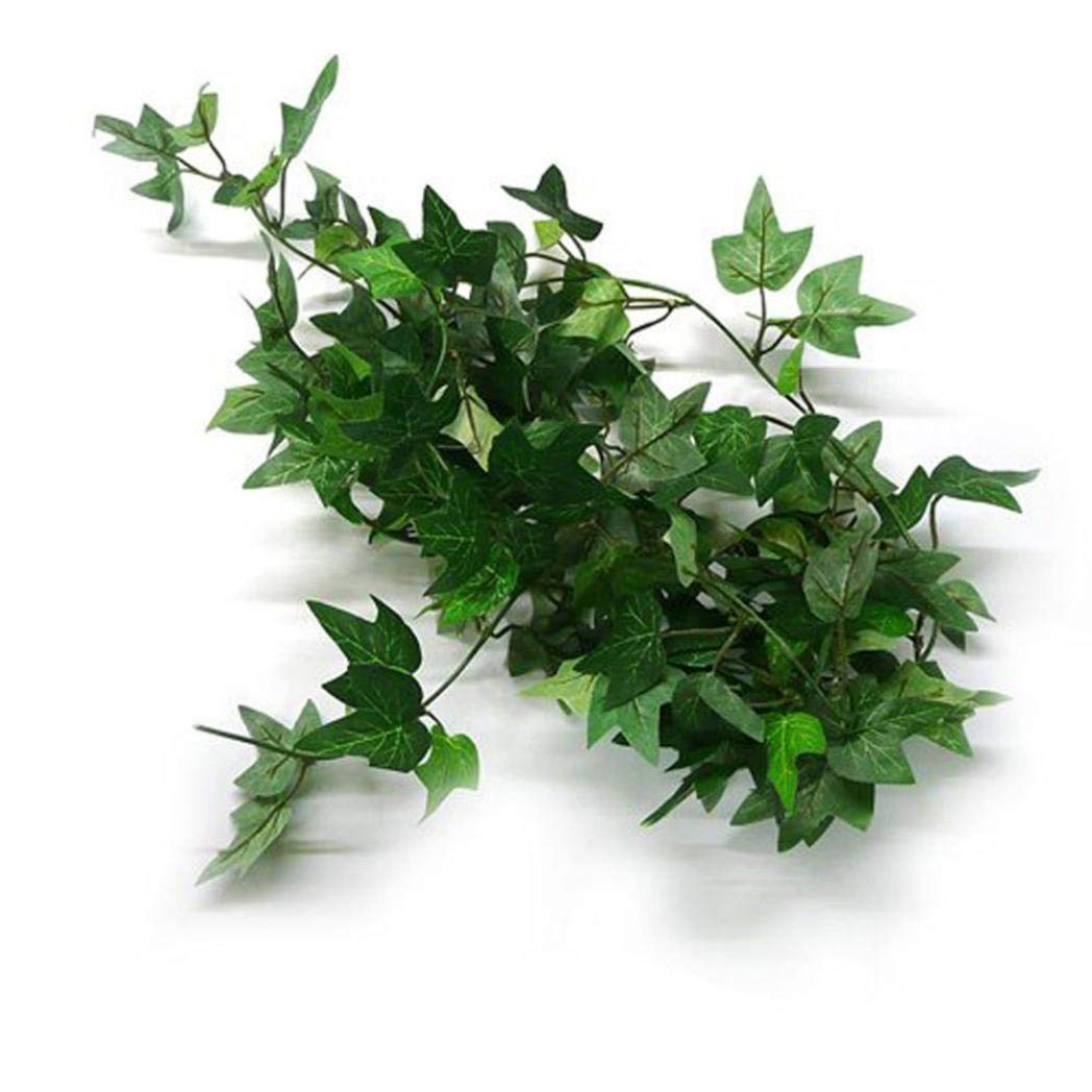 Ameesi Artificial English Ivy Vine Garlands Hanging Greenery Leaves Wall Decoration