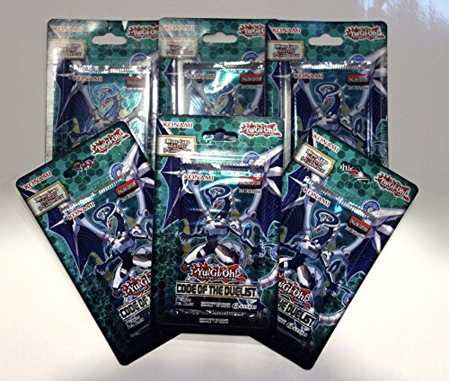 Yu-Gi-Oh! - CODE OF THE DUELIST - 6x BLISTER PACKS - Factory Sealed - 1st (Sealed Blister Pack)