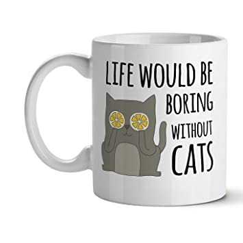 Life Would Be Boring Without Cats