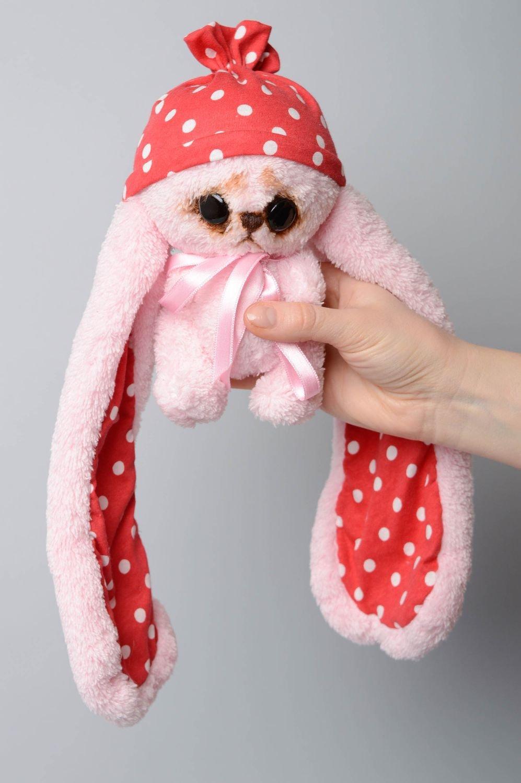 Juguete de peluche Liebre de orejas largas rosada: Amazon.es: Juguetes y juegos