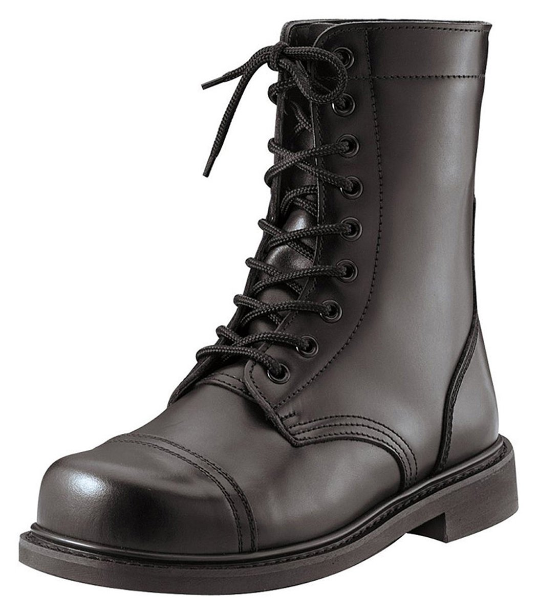 Rothco 9'' Steel Toe Combat Boot B000HS4X1C 8|Black