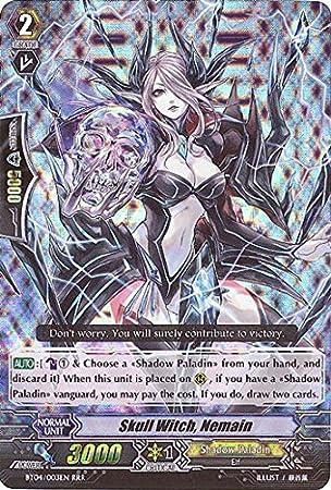 Cardfight!! Vanguard TCG - Skull Witch, Nemain (BT04/003EN ...