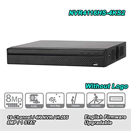 Amazon com : Original English NVR4116HS-4KS2 Lite NVR 16 Channel