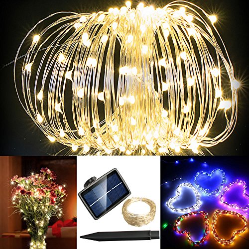 Solarmks TS-1150 Starry String Lights 72ft 150 Led Warm White ...