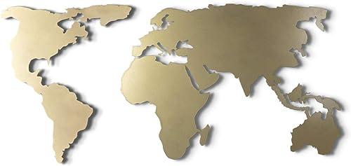 Tubibu World Map Wall Art