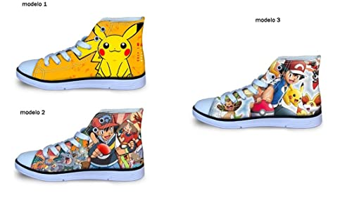 2Amazon Pokemon32 Complementos Zapatillas esZapatos Y EuModelo NynOm8wv0