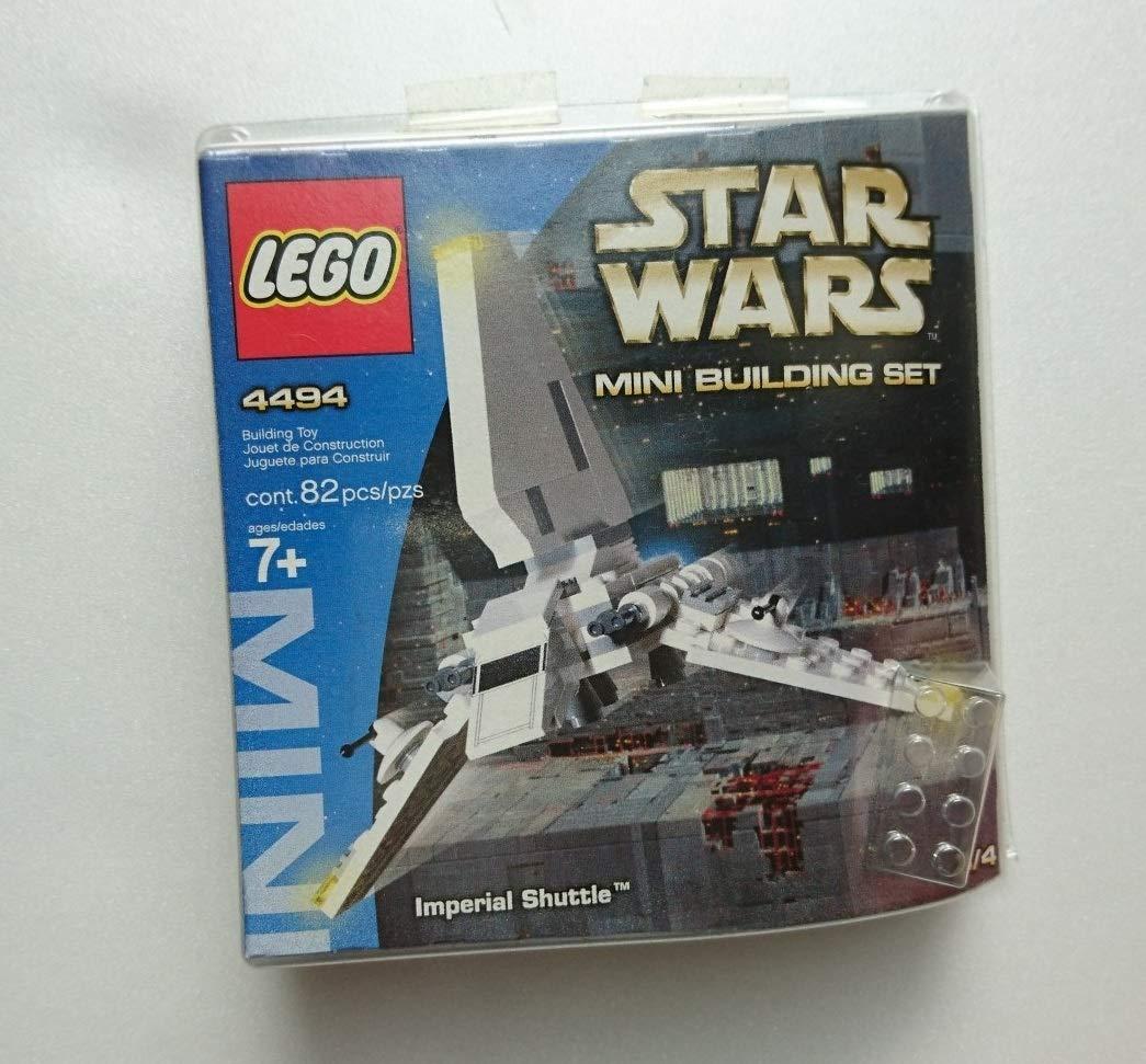 【絶版品】LEGO STAR WARS #4494 Mini ImperialShuttle レゴ スターウォーズ #4494 ミニインペリアルシャトル   B07NJ85XBR