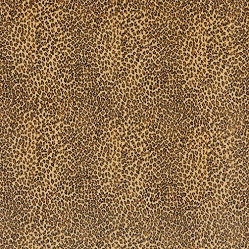 E400 Yellow Leopard Animal Print Microfiber Contemporary Upholstery Fabric By The Yard Leopard Upholstery Fabric
