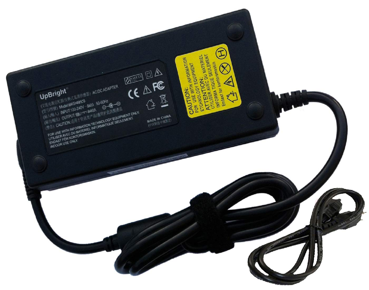 UpBright New Global AC/DC Adapter for iBuyPower Valkyrie CZ-17 CZ-27 iBuy Power Gaming Power Supply Cord Cable PS Battery Charger Mains PSU