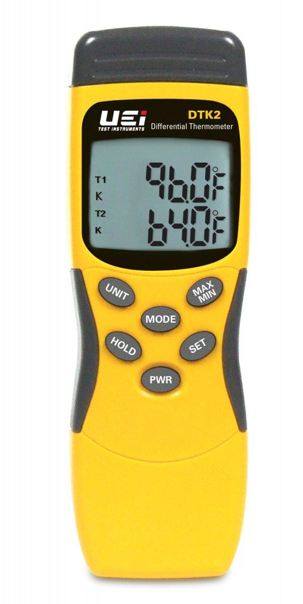 UEi Test Instruments  DTK2 Digital Thermometer K Type
