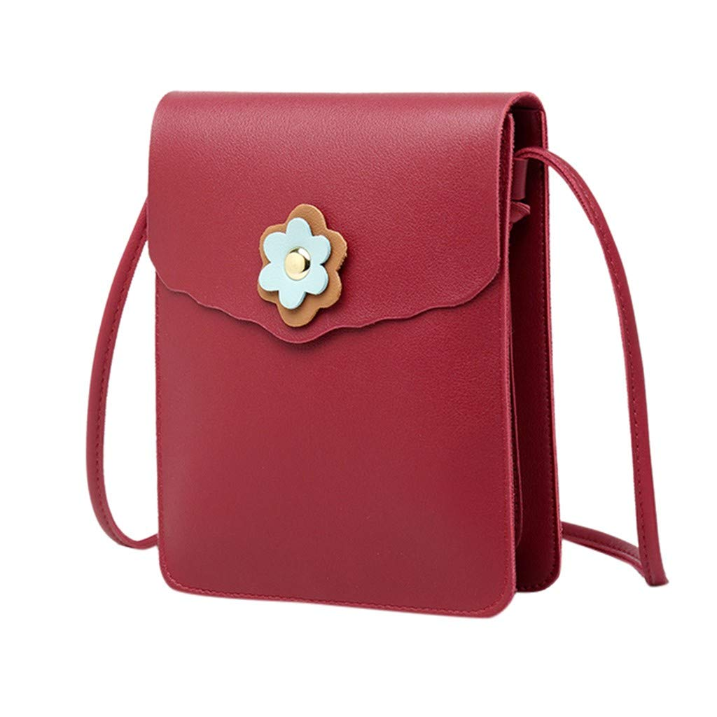 YEZIJIN Clearance!Fashion Lady Shoulders Small Backpack Letter Purse Mobile Phone Messenger Bag 2019 New