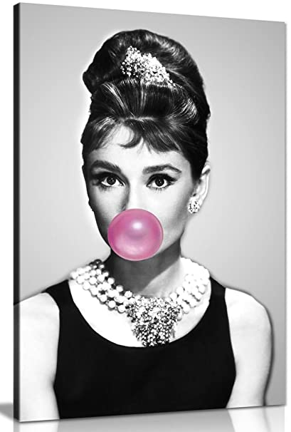 Audrey Hepburn Quote PrintQuality A3 Movie Poster Music Pop Art Retro Gift