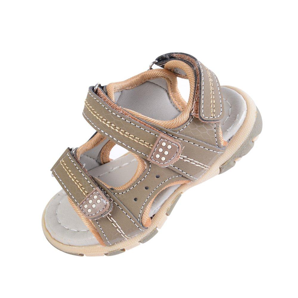 laamei Sandales Bout Ouvert Mixte Enfant Confortables Chaussures Sport Beach Sandales Garçons Respirant