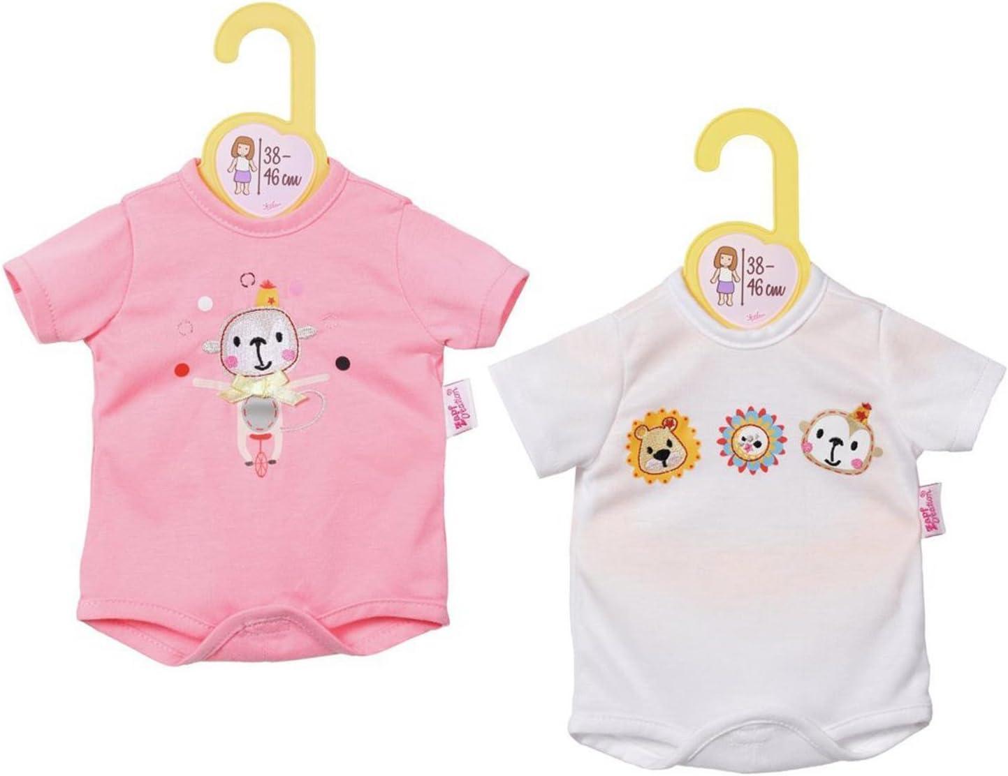 Amazon.es: Dolly Moda Body 38-46cm Doll bodysuit - accesorios para muñecas (Doll bodysuit, 3 año(s), Rosa, Color blanco, Chica, 1 pieza(s), 38 cm), color/modelo surtido: Juguetes y juegos