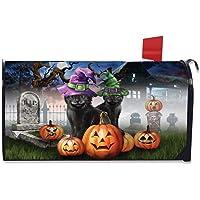 Briarwood Lane Spooky Kittens Halloween Magnetic Mailbox Cover Jack o'Lanterns Standard