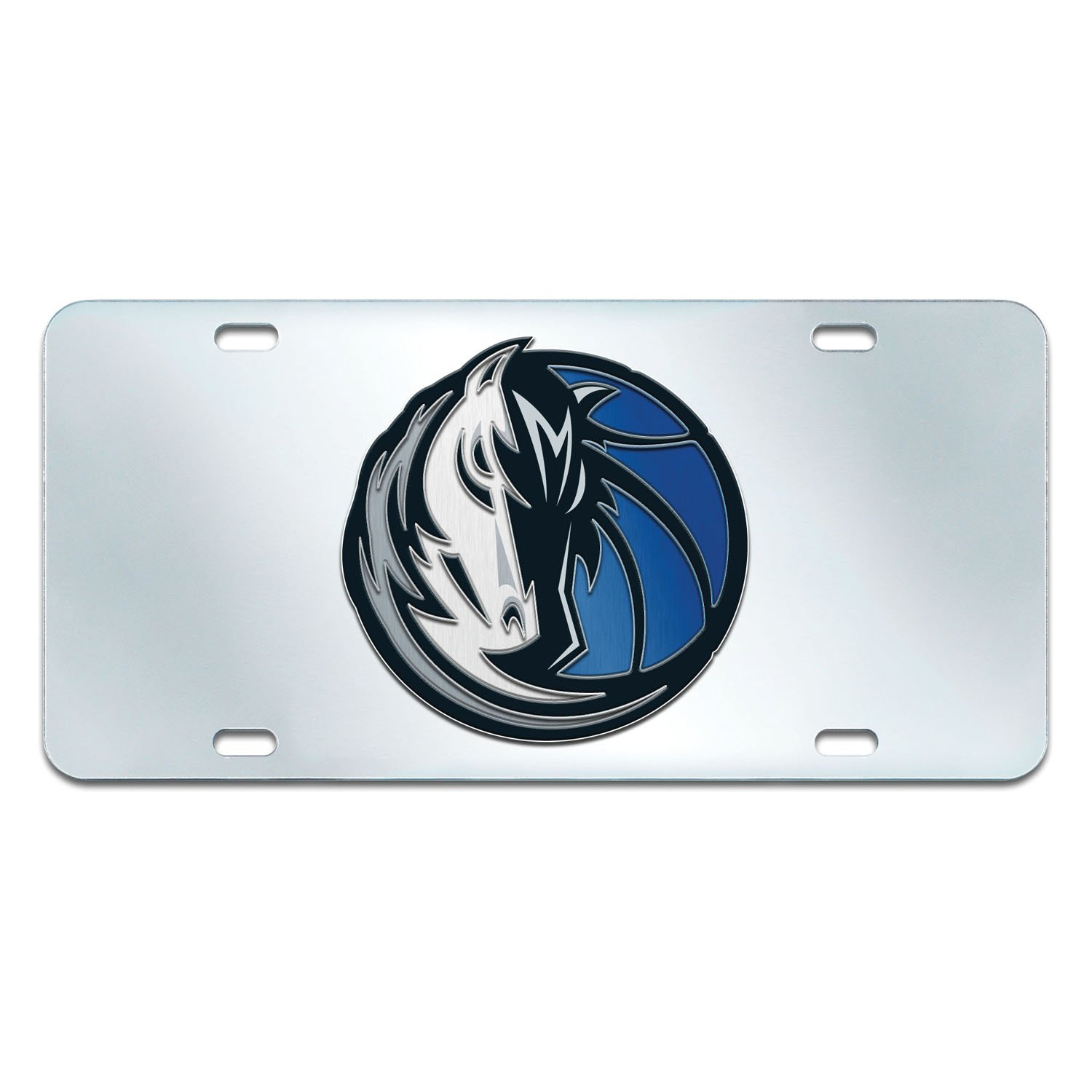 Fanmats NBA Dallas Mavericks License Plate-Inlaid 6x12