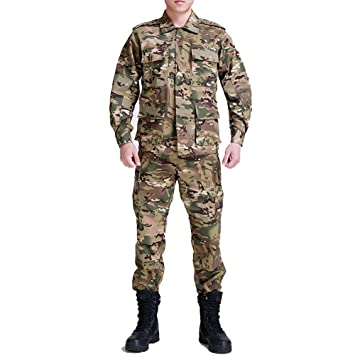 Amazon.com: Noga Camuflaje Traje Combate Regular Edition BDU ...