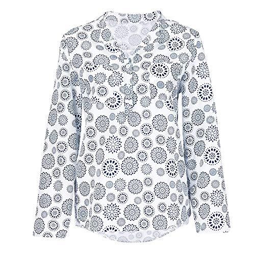 Hauts Fluide Sweatshirt Blouse Kangrunmy Tops T V Col Casual Femme Chic Manteau Sweat Mode Longues Manches G Chemisier Tunique Shirt Mousseline Veste Chemise OHOwqvU