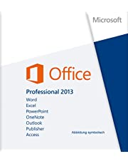 Microsoft® Office 2013 Professional Plus. Deutsch für 1 PC (32/64-Bit) + Gratis Installations-DVD