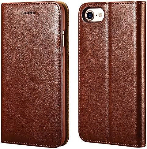 iPhone ICARERCASE Premium Leather Kickstand product image