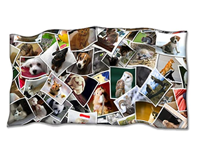 Manta personalizada con tu foto. Manta polar 120 x 190 cm.