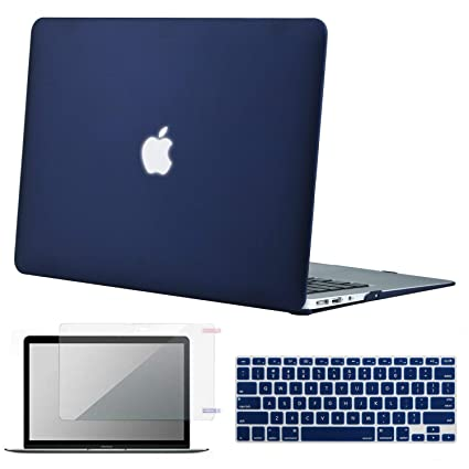 promo code a9eed a78bc MacBook Air 13 Inch Case, Lacdo Laptop Hard Case Shell Cover Screen  Protector Keyboard Skin Compatible MacBook Air 13.3