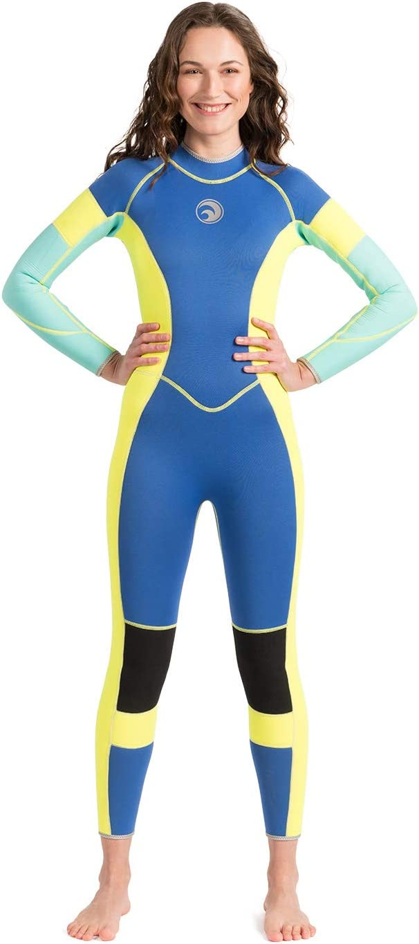 Scubadonkey RAD II 3mm Neoprene Wetsuit for Women | US Size