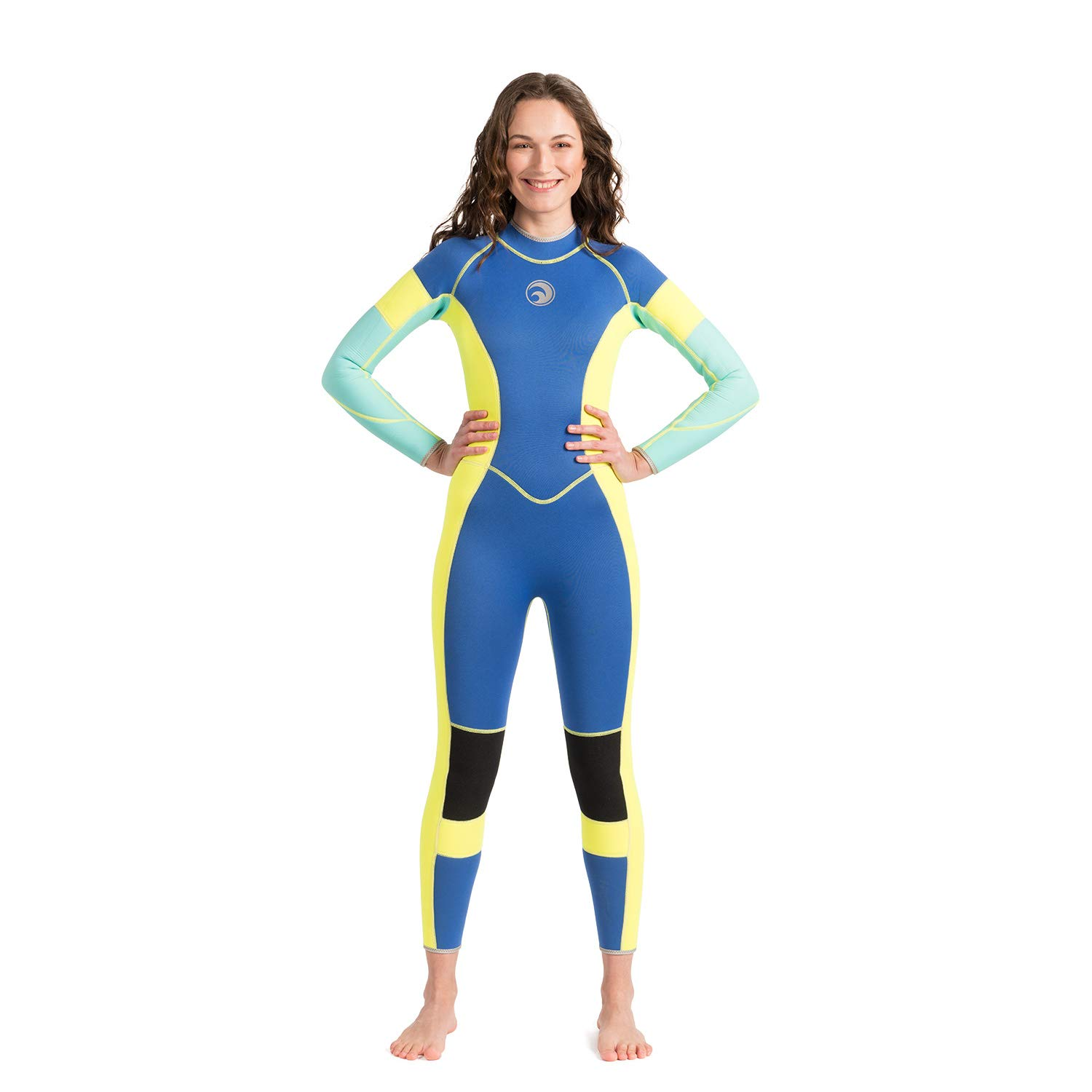 Scubadonkey RAD 3mm Neoprene Wetsuit for Women Medium by Scubadonkey