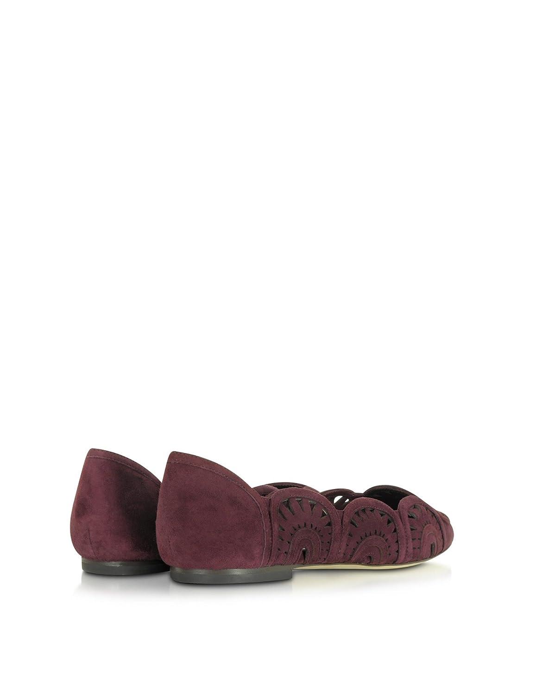 cfc1058f1ea Tory Burch Women s 31745616 Burgundy Suede Flats  Amazon.ca  Shoes    Handbags