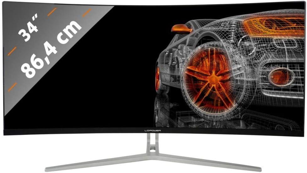 LC-Power LC-M34-UWQHD-100-C - Monitor para Videojuegos (34