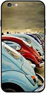 For iPhone 6 Plus Case Little Shining Cars