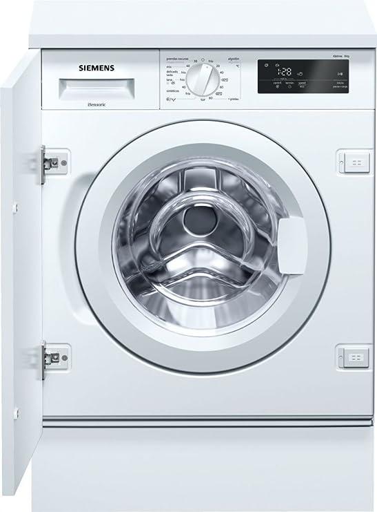 Siemens iQ500 WI12W320ES Integrado Carga frontal 8kg 1200RPM A+++ Blanco - Lavadora (Integrado, Carga frontal, Blanco, Giratorio, Tocar, Izquierda, ...