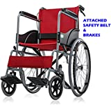 Viva Healthcare Spoke Wheel Regular Foldable Self Drive Wheel Chair