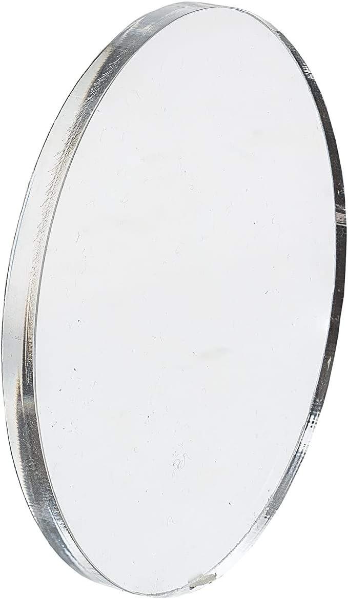 beidseitig foliert 2 mm stark /Ø 150 mm bruchfest /& vielseitig anwendbar Kreiszuschnitt aus Acryl als transparente Acrylglas- Plexiglas-Platte gepr/üfter UV-Schutz Acrylglas-Zuschnitt Rund